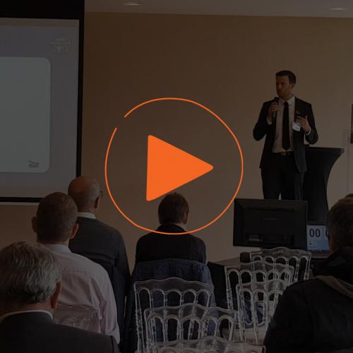Olivier Rozet Directeur Innovation présente myConnectedCompany à l'IT Innovation Forum