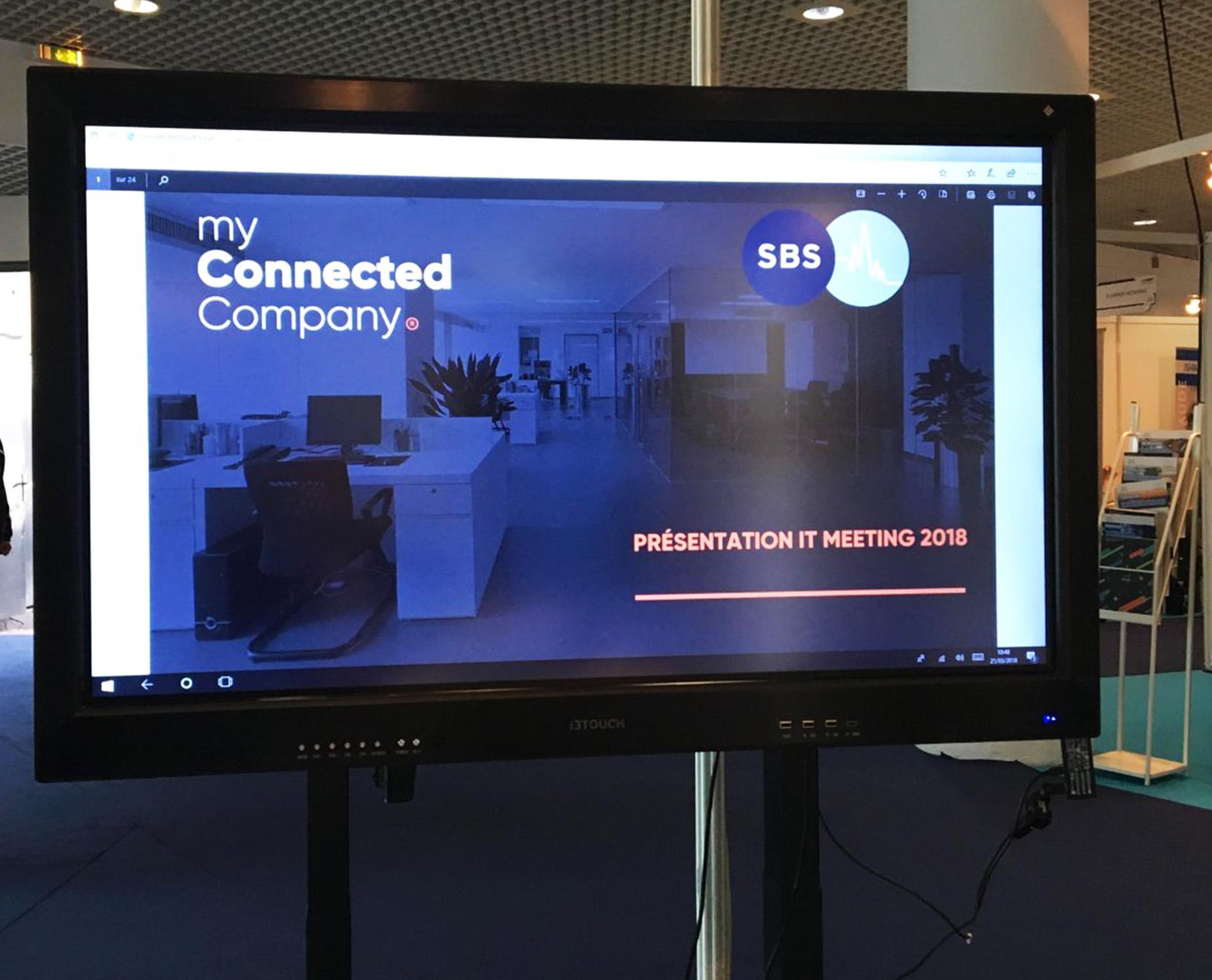 display silence business solution et myconnectedcompany au palais des festivals et congrès de cannes